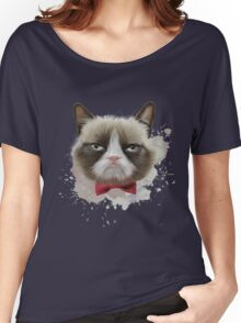 Cat with bow tie Women's Relaxed Fit T-Shirt