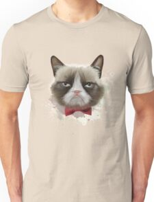 Cat with bow tie Unisex T-Shirt