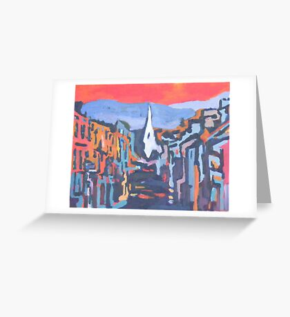 Kenmare, Colour - County Kerry, Ireland Greeting Card