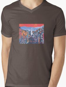Kenmare, Colour - County Kerry, Ireland Mens V-Neck T-Shirt