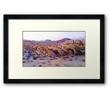 My Place parking lot Framed Print
