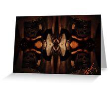 Untitled Skulls Greeting Card