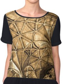 Heavens Web Women's Chiffon Top