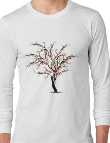 Cherry Blossoms Tree Long Sleeve T-Shirt