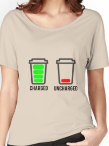 CHARGED - UNCHARGED Women's Relaxed Fit T-Shirt
