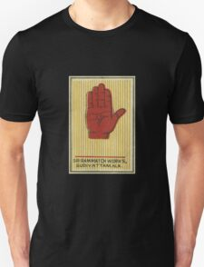 India Match Box Art - Hand T-Shirt