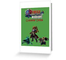 Hyrule Warriors Ganondorf Edition Greeting Card