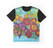 Persian Flowers Graphic T-Shirt