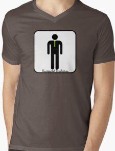 Unexpected Resolution Fan Gear Mens V-Neck T-Shirt