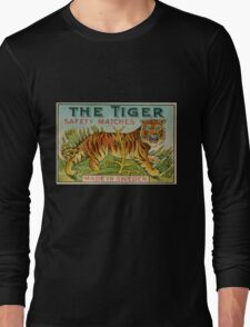 The Tiger Safety Matches Long Sleeve T-Shirt