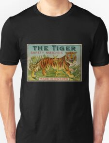 The Tiger Safety Matches Unisex T-Shirt
