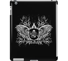 Gracie Jiu Jitsu BJJ (White) iPad Case/Skin