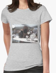 Pete & Annie (Self portrait) Womens Fitted T-Shirt