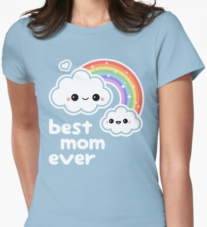 Cute Best Cloud Mom T-Shirt