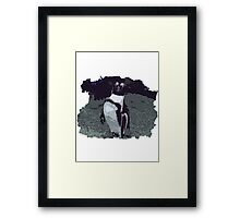 Killing it - Penguin Framed Print