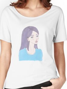 Hipster Girl Recolour Women's Relaxed Fit T-Shirt