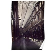 Les Galeries Brussels Poster