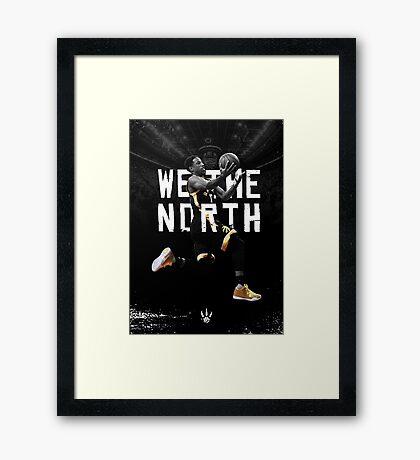 DeMar DeRozan - We The North Framed Print