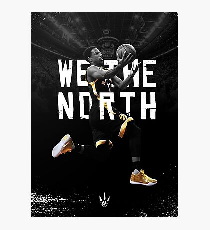 DeMar DeRozan - We The North Photographic Print