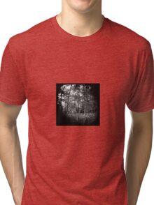 The World is Round. Tri-blend T-Shirt