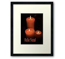 Feliz Natal - Portuguese Christmas Framed Print