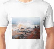Waves, Lake Superior, Brighton Beach Unisex T-Shirt