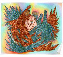 Rainbow Prince And Princess Angels  Poster