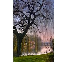 Minnewater Lake Bruges Photographic Print