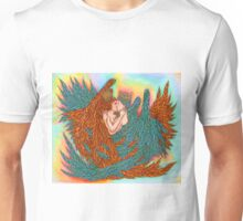 Rainbow Prince And Princess Angels  Unisex T-Shirt