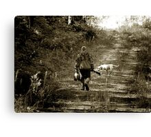 End Of A Minnesota Duck Hunt Canvas Print