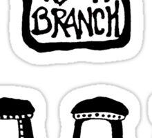 High Branch Brewing  Sticker