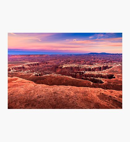 Canyonlands Sunset Photographic Print