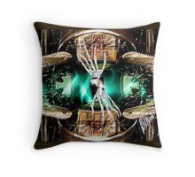 No Timely Passage Throw Pillow