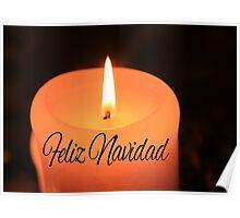 Feliz Navidad -  Spanish Christmas Poster