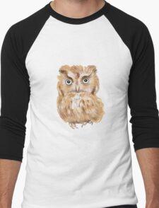 Owl Men's Baseball ¾ T-Shirt