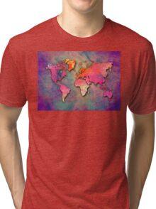 World Map special 4 Tri-blend T-Shirt