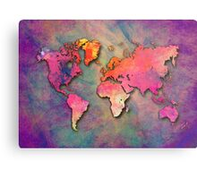 World Map special 4 Metal Print