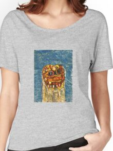 CREEPY MONSTER ONE Women's Relaxed Fit T-Shirt