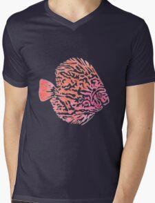 Discus fish Mens V-Neck T-Shirt