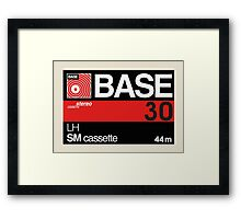 Base C30 Framed Print