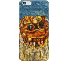 CREEPY MONSTER ONE iPhone Case/Skin
