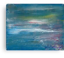 Megan Lewis-Sea of Passion - Original acrylic painting on Canvas Canvas Print