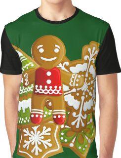 Gingerbread man Graphic T-Shirt