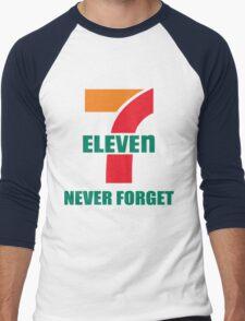 7 Eleven Never Forget Men's Baseball ¾ T-Shirt