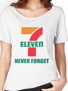 7 Eleven Never Forget Women's Relaxed Fit T-Shirt