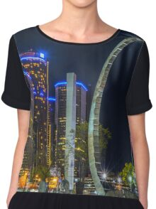 Detroit Transcend Memorial  Chiffon Top
