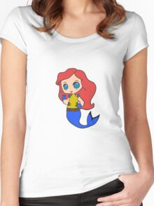 Superhero Princess Women's Fitted Scoop T-Shirt