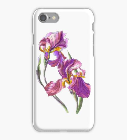 Irises-1 iPhone Case/Skin