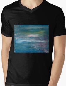 Megan Lewis-Sea of Passion - Original acrylic painting on Canvas Mens V-Neck T-Shirt