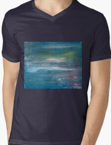 Megan Lewis-Sea of Passion - Original acrylic painting on Canvas Mens V-Neck T-Shirt